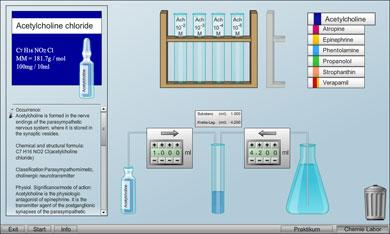 Chemie Labor: Hier werden die richtigen Mischverhältnisse erlernt