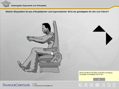 Testseite: Ergonomie und Orthopädie – Die richtige Sitzposition