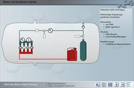 Erdgasantrieb<br/>Mercedes-Benz