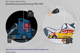 Zusatz-/Standheizung<br/>Mercedes-Benz