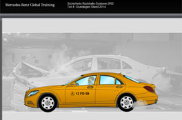 Sicherheits-Rückhalte-Systeme 4<br/>Mercedes-Benz